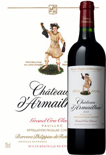 Kết quả hình ảnh cho chateau d'armailhac grand cru classe