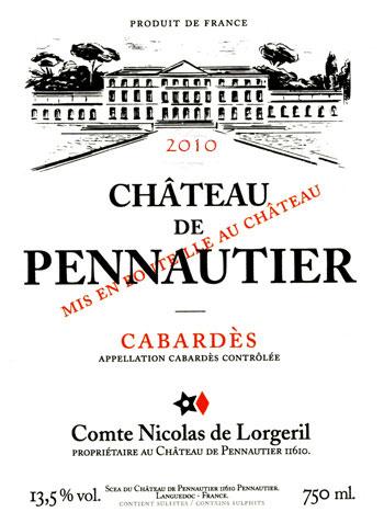 photo Chateau de Pennautier Cabardes Rose